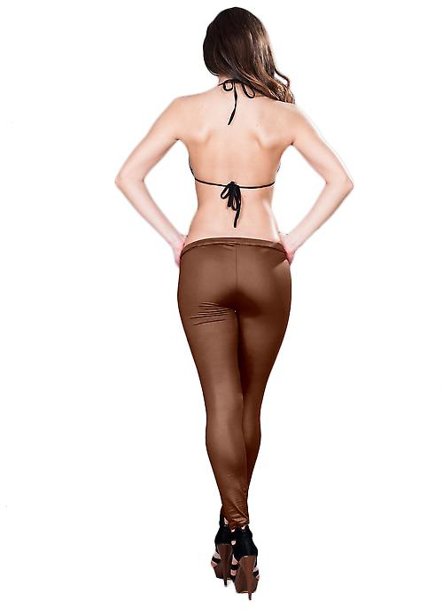 Waooh - Fashion - Tregging - Satin Leggings