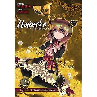 Umineko wenn sie Episode 4 - Vol. 2 - Alliance of the Golden Witch schreien
