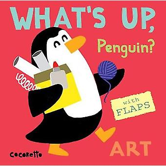 What's Up Penguin? - Art - 9781786281548 Book