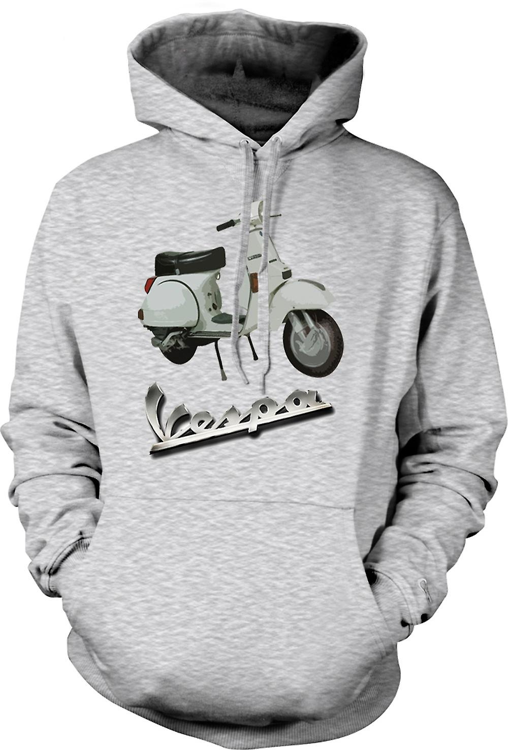 Mens Hoodie - Vespa PX 200 - Classic Scooter