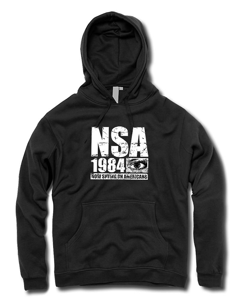 Kids Hoodie - NSA 1984 Spying On Americans - Police State