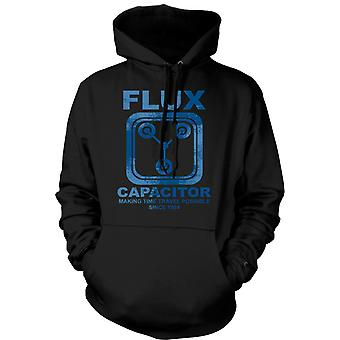 Womens Hoodie - Flux Capacitor - Making Time Travel Possible