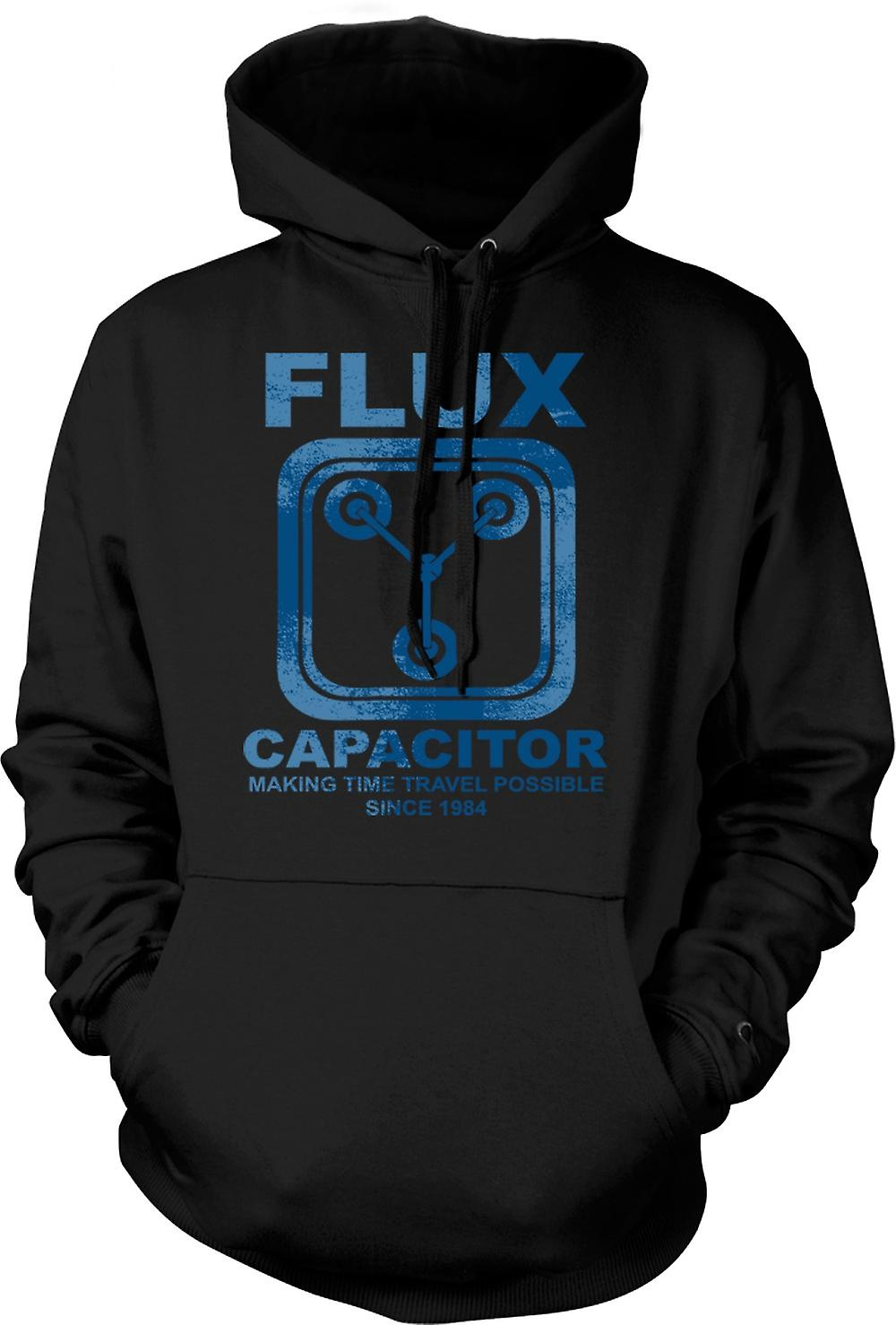 Mens Hoodie - Flux Capacitor - Making Time Travel Possible