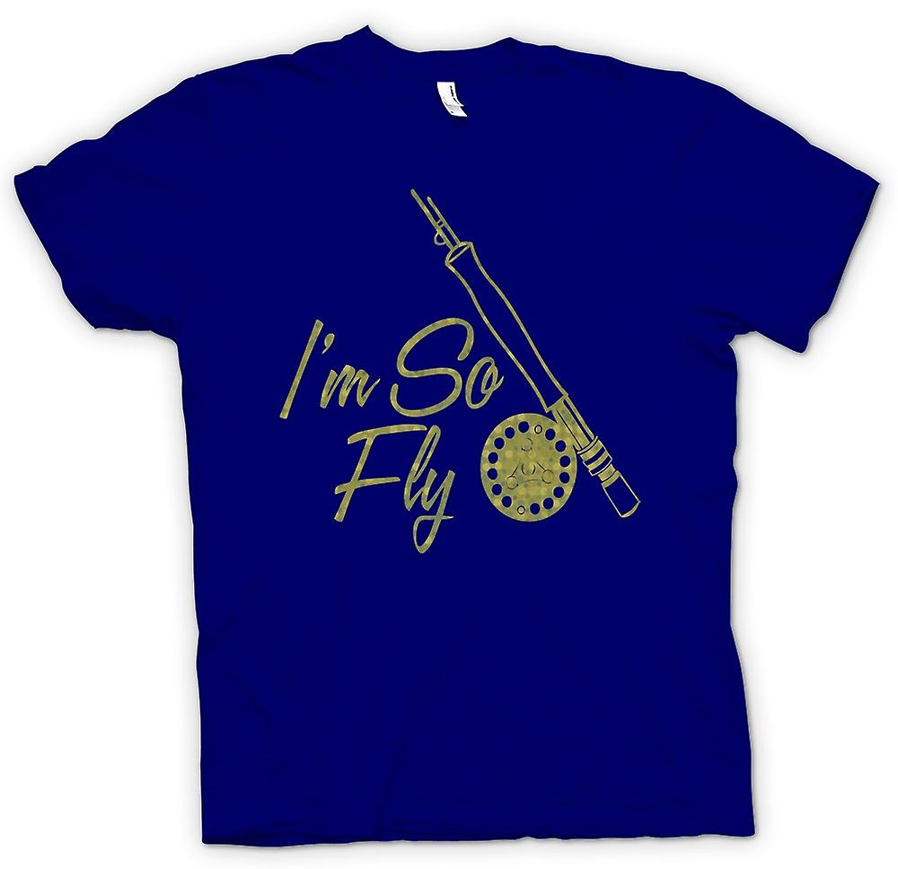 Mens T-shirt - Im So Fly - Fly Fishing