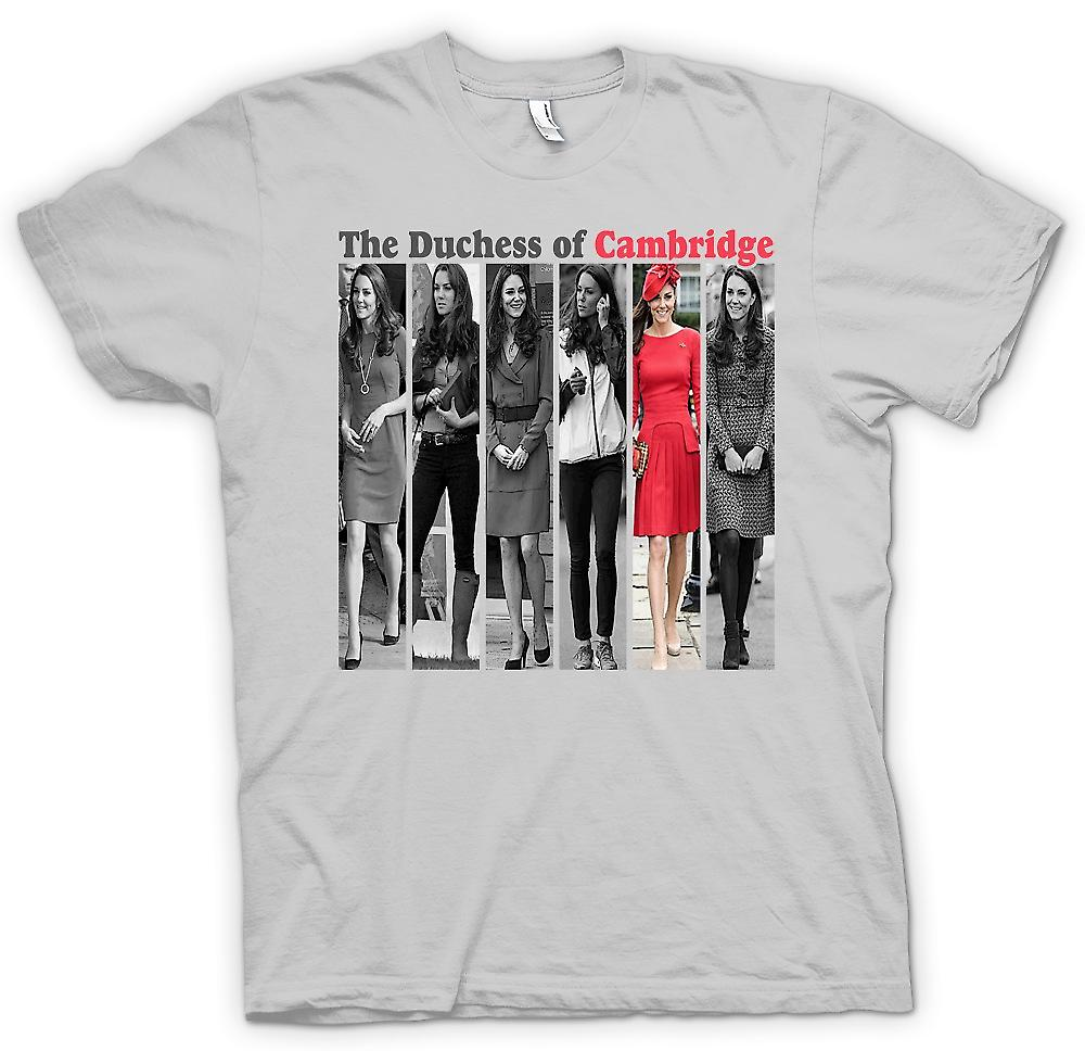 Mens t-shirt - la Duchessa di Cambridge - Kate Middleton