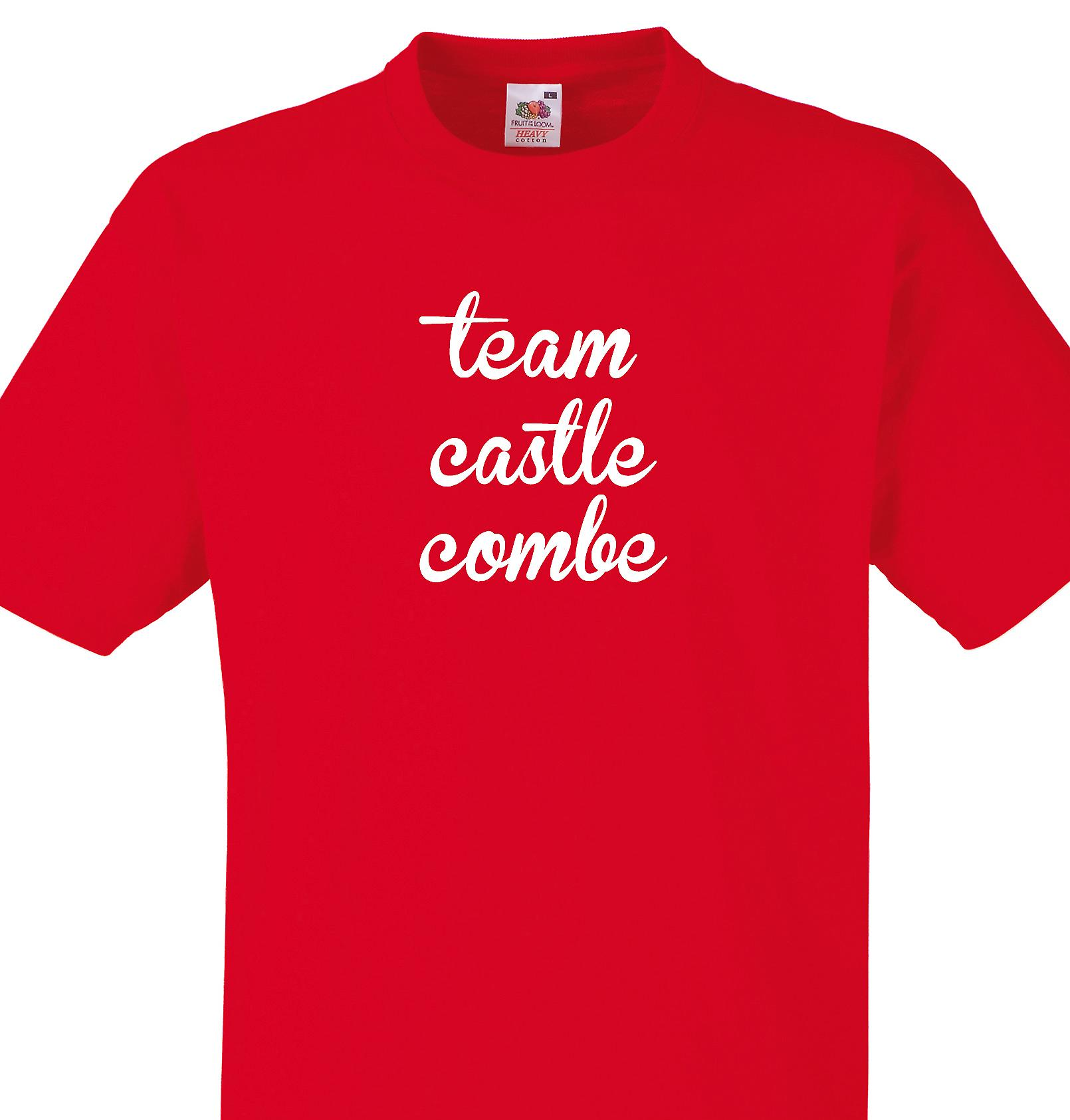 Team Castle combe Red T shirt