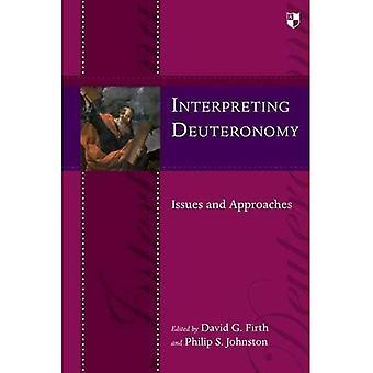 Interprétant le Deutéronome