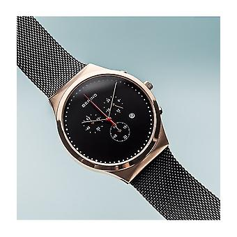 Bering classic collection mens watch chronograph 14740-166