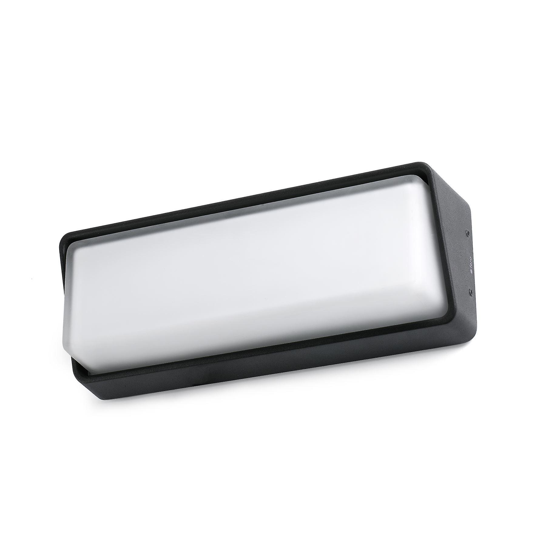 Faro - Half LED de plein air Wall lumière Dark gris FARO71537
