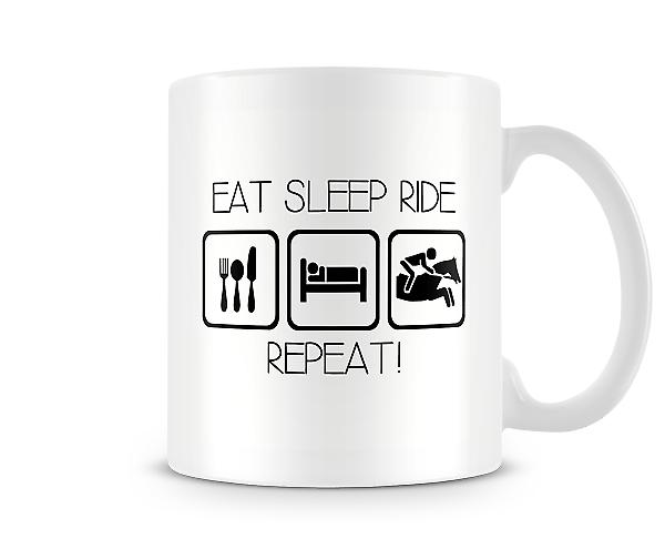 Eat Sleep Ride Repeat Mug