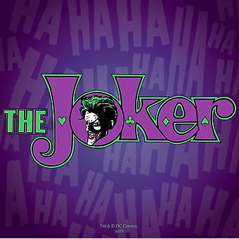 Batman The Joker single drinks mat/coaster  (hb)