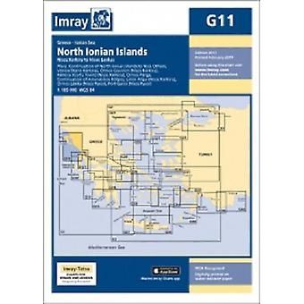 Imray Chart G11 - North Ionian Islands - Nisos Kerkira to Nisos Levkas