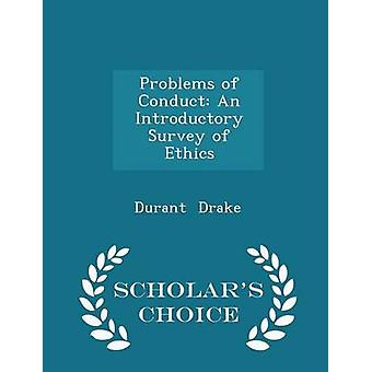 المشاكل المتعلقة بإجراء مسح تمهيدي من أخلاقيات العلماء الطبعة اختيار طريق دريك & ديورانت