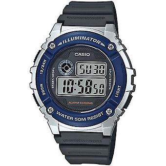 Horloge Casio collectie W - 216 H-2AVEF - toont digitale multifunctionele man