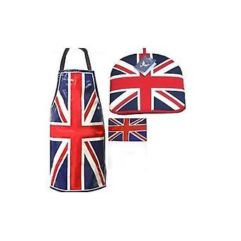 Union Jack use sistema de cocina de gato de Unión Patriótica