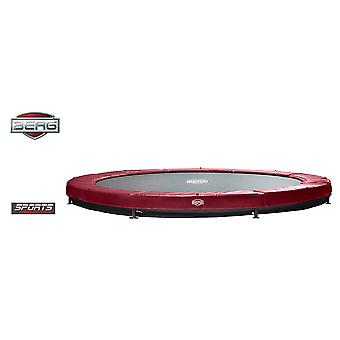 BERG InGround Elite 380 12.5ft Trampoline Sports Series Red