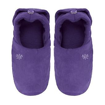 Ladies Aroma Home Lavender Scented Microwavable Slippers
