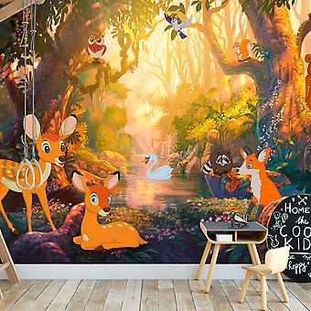 Tapet-djur i skogen