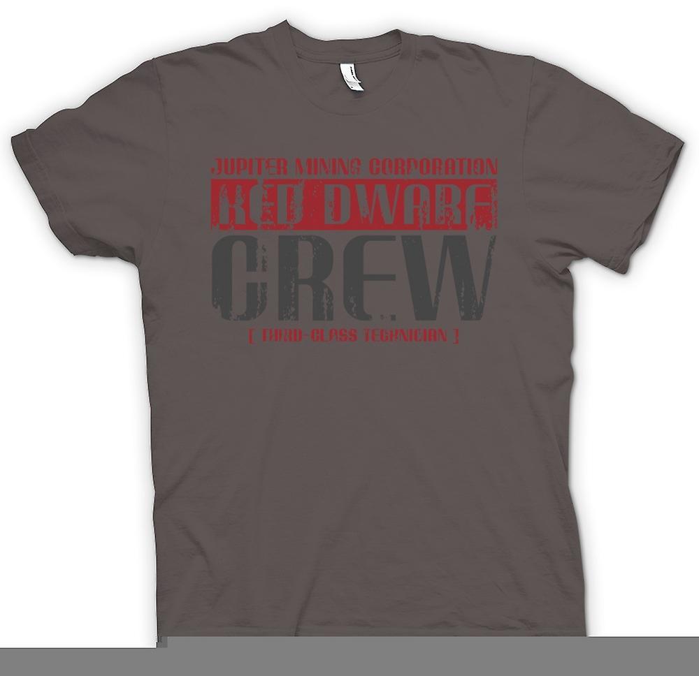 Herr T-shirt-Jupiter Mining Corp  Dvärg besättning - 3: e klass tekniker