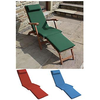 Trueshopping  3 Section  Cushion for Steamer Sun Lounger