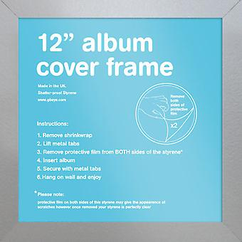Eton sølvfarget ramme Album plakat / ut rammen