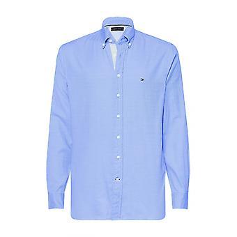 Tommy Hilfiger Flex jaspe Noldus skjorte blå