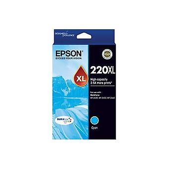Epson 220XL - High Capacity DURABrite Ultra - Cyan Ink Cartridge