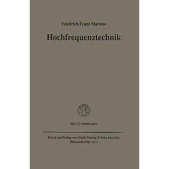 Hochfrequenztechnik par Franz Martens et Friedrich