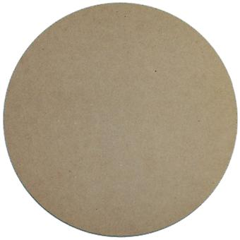 Unfinished Mdf Plaque 1 Pkg Circle 10