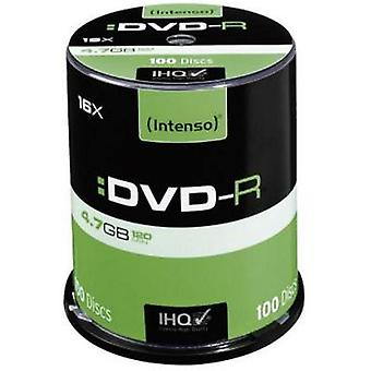 Blank DVD-R 4.7 GB Intenso 4101156 100 pc(s) Spindle