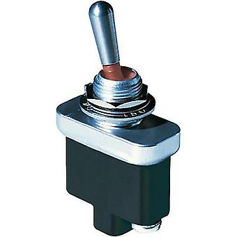 Toggle switch 28 Vdc 5 A 2 x On/Off/On OTTO T9-CS2-21 IP68 latch/0/latch 1 pc(s)