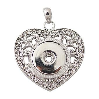 Stainless steel pendant for click buttons KB0125