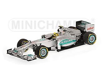 Mercedes Petronas W02 (Nico Rosberg - Showcar 2012) Diecast Model Car