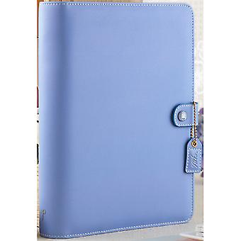 Color Crush A5 Faux Leather 6-Ring Planner Binder 7.5
