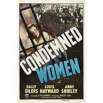 Condemned Women Movie Poster (11 x 17)