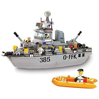 Sluban Army Patrol Boat Parts 461