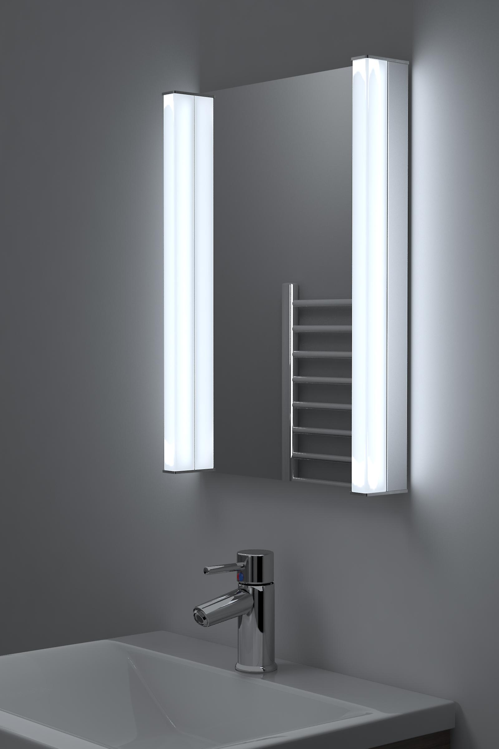 Super Bright RGB K196 Bathroom Mirror With Demist Shaver & Sensor