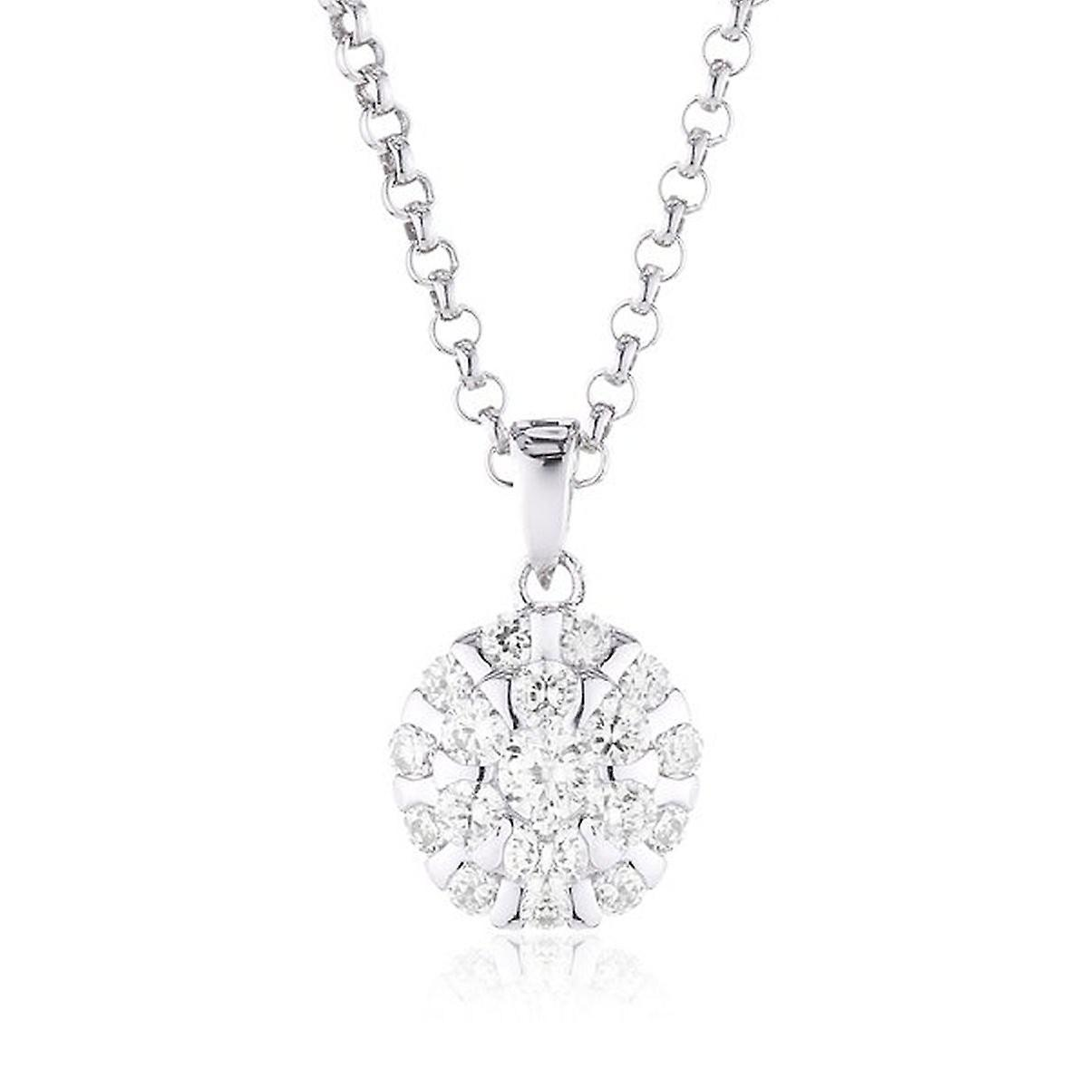 s.Oliver Jewel Damen Kette Collier Silber Zyrkonia SO831/1 - 418669
