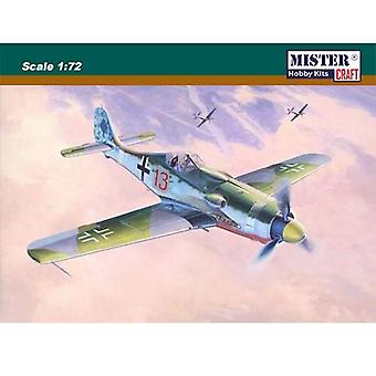Master Craft Model Kit - FW-190D-9 Papagein Staffel Plane - 1:72 Scale - C-8