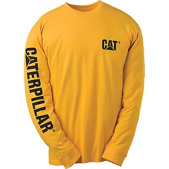 Caterpillar C1510034 Workwear Trademark Mens T-Shirts Round Neck Cotton Clothing