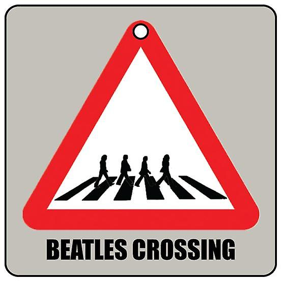 Beatles Crossing Car Air Freshener