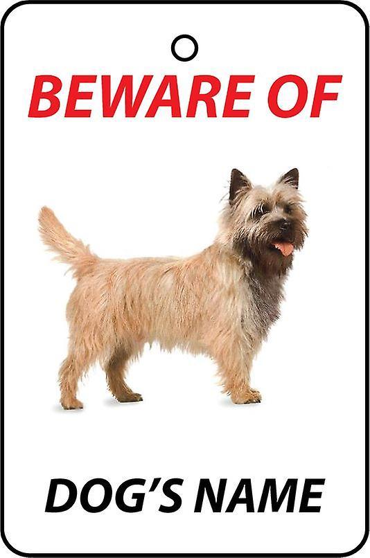 Gepersonaliseerde Cairn Terrier hond auto luchtverfrisser