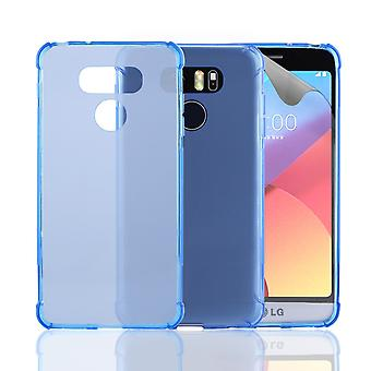 32nd Tough Gel case for LG G6 - Deep Blue