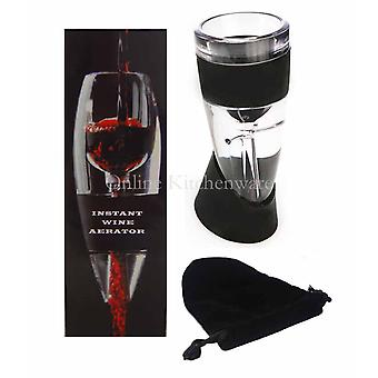 Eddingtons Instant Wine Aerator / Decanter with Filter & Stand