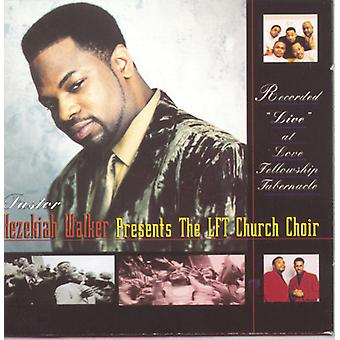 Hezekiah Walker - Live på kærlighed Fellowship Tabern [CD] USA import
