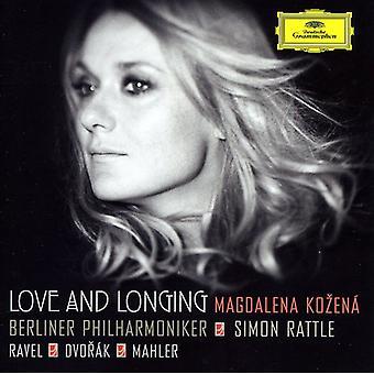Ravel/Dvorak/Mahler - kærlighed og længsel [CD] USA importerer