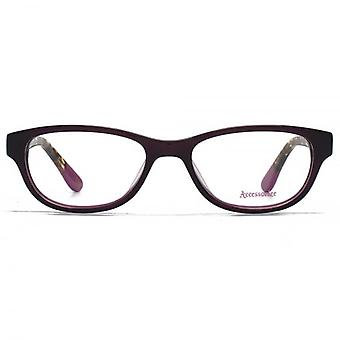 Accessorize Soft Rectangle Glasses In Purple
