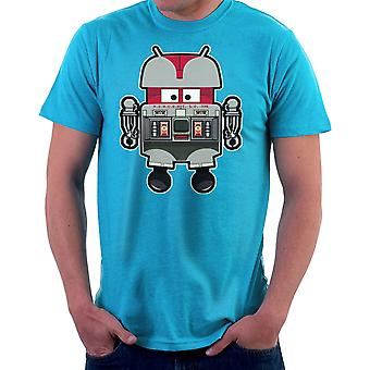 V.I.N.CENT L.F 396 Droid The Black Hole Android Men's T-Shirt