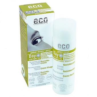 Eco Cosmetics Facial Cream Detratamiento With Color And Fps 15 50 Ml