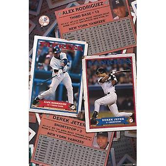 New York Yankees Infield Poster Poster Print